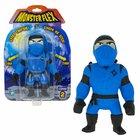 Monster Flex: Nyújtható szörnyfigura, S2 - kék Ninja