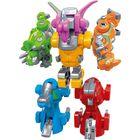 Dinomorfer: Set de roboți creaturi preistorice - 6-în-1
