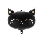Balon folie Pisică neagră - 48 x 36 cm
