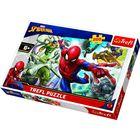 Trefl: Marvel Spider-Man - Născut super-erou - puzzle cu 200 piese