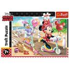 Trefl: Minnie Mouse Distracție la plajă - puzzle cu 200 de piese