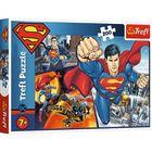 Trefl: Superman a hős puzzle - 200 darabos