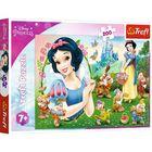 Trefl: Gyönyörű Hófehérke puzzle - 200 darabos