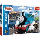 Trefl: Ziua fericită a lui Thomas - puzzle Maxi cu 24 de piese