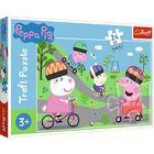 Trefl: Peppa Pig - puzzle Maxi cu 24 de piese