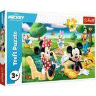 Trefl: Mickey Mouse între prieteni - puzzle Maxi cu 24 de piese