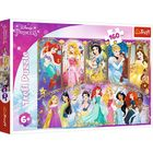 Trefl: Disney hercegnők puzzle - 160 darabos