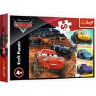 Trefl: Lightning McQueen cu prietenii - puzzle cu 60 de piese