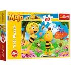 Trefl: Maja a méhecske - Virág Majának puzzle - 60 darabos