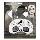 Set vopsea de față și mască de ochi - model craniu