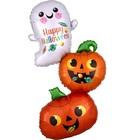 Balon folie Fantomă fericită și dovleac fericit - 55 x 93 cm
