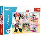 Trefl: Minunata Minnie - puzzle cu 60 de piese
