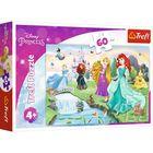Trefl: Fă cunoștințe cu prințesele - puzzle cu 30 de piese
