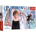 Trefl: Jégvarázs 2 hercegnők puzzle - 30 darabos
