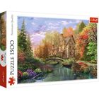 Trefl: Falu a tó mellett puzzle - 1500 darabos