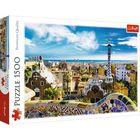Trefl: Park Güell - Barcelona puzzle - 1500 darabos