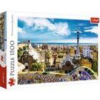 Trefl: Park Güell, Barcelona - puzzle cu 1500 piese