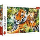Trefl: Két tigris puzzle - 1500 darabos