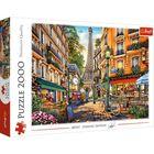 Trefl: După-amiaza la Paris - puzzle cu 2000 piese