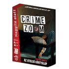 Crime Zoom: Nagyító alatt - Az utolsó kártyalap társasjáték