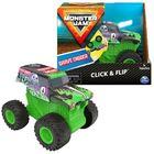 Monster Jam - Click & Flip: Grave Digger hátrahúzhatós kisautó