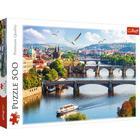 Trefl: Orașul Praga, Cehia - puzzle cu 500 piese