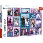 Trefl: Frozen 2, Universul Frozen - puzzle cu 500 piese