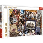 Trefl: Harry Potter roxforti emlékek puzzle - 500 darabos
