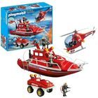 Playmobil: Set vehicule de pompieri - 9503