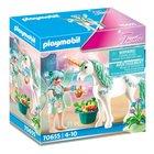 Playmobil: Egyszarvú etető tündérrel 70655