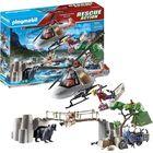 Playmobil: Helikopteres bevetés a kanyonban 70663