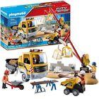 Playmobil: Építkezés billenős teherautóval 70742