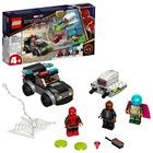 LEGO Super Heroes: Omul Păianjen contra Atacul dronei lui Mysterio - 76184