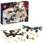 LEGO Super Heroes. Duelul cu dronă al Omului Păianjen - 76195