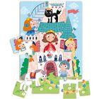 Dodo: Prințese în castel - mini-puzzle cu 35 de piese