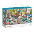 Dodo: Urmărește cu atenție! Circulația urbană - puzzle cu 80 de piese