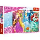 Trefl: Disney hercegnők elvarázsolt dallam puzzle - 30 darabos