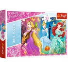 Trefl: Prințesele Disney Melodia fermecată - puzzle cu 30 de piese