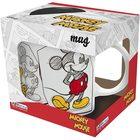 Disney: Rajzolt Mickey mintás mikrózható bögre - 320 ml