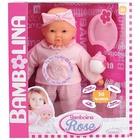 Bambolina: Păpușa Rose care vorbește în lb. engleză - 38 cm, cu accesorii