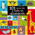 101 imagini colorate despre animale sălbatice - carte pentru copii în lb. maghiară