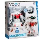 Silverlit: MacroBot - piros - CSOMAGOLÁSSÉRÜLT