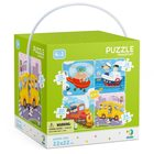 Dodo: Vehicule - puzzle 4-în-1