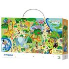 Dodo: Figyeld meg! Állatkert puzzle - 80 darabos