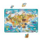 Dodo: Eurasia - puzzle cu 53 piese, cu cadru