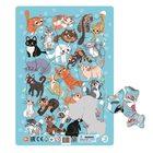Dodo: Keretes puzzle, 53 darabos - Cicák