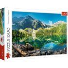 Trefl: Morskie Oko-tó, Tátra, Lengyelország - 1500 darabos puzzle - CSOMAGOLÁSSÉRÜLT