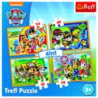 Trefl: Mancs őrjárat, 4 az 1-ben puzzle - CSOMAGOLÁSSÉRÜLT