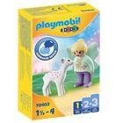 Playmobil 1.2.3: Tündérke őzgidával 70402