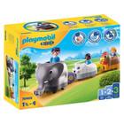 Playmobil 1.2.3: Guruló kisállatvonatom 70405